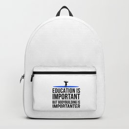 Bodybuilding fitness gym gift idea Backpack