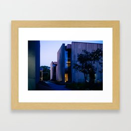 Confederation Centre of the Arts at Dusk Framed Art Print