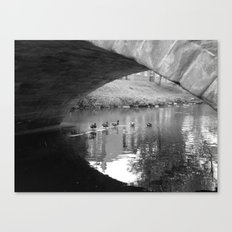 Under the Bridge #1 Canvas Print