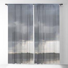 Thunderstorm Sheer Curtain