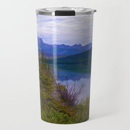 Edna Lake in Jasper National Park, Canada Travel Mug