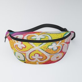 Leaves on the World Tree: Akan Nyame Dua Fanny Pack