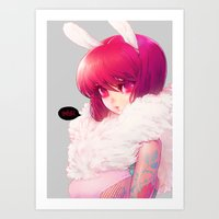 barachan Art Prints featuring synthetic by barachan