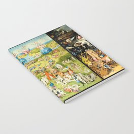 The Garden of Earthly Delights by Bosch Notebook