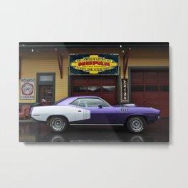 Plum Crazy 1971 Barracuda 426 Metal Print