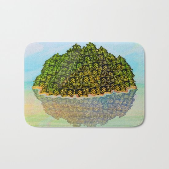 Lost in the Green Island / Nature 05-12-16 Bath Mat