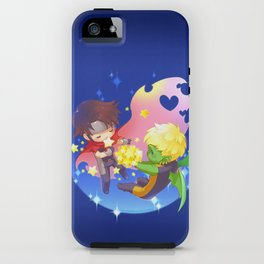 teddy billy - love stars iPhone Case