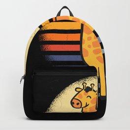 Cute Baby Giraffe Backpack