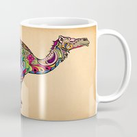 camel Mugs featuring Camel by Green Girl Canvas