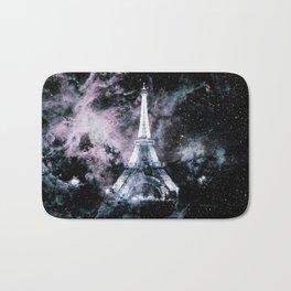Paris Dreams Pale Pink & Blue Galaxy Bath Mat