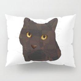 Black Cat Pillow Sham