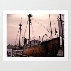 Come Sail Away Art Print