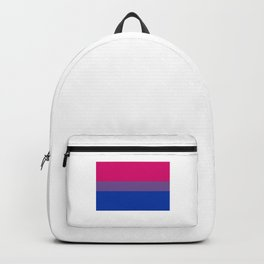 Bisexual Flag Bi Pride Colors LGBT Equality Funny Pun Gift Cool Humor Design Backpack