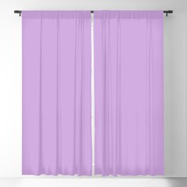 From The Crayon Box – Wisteria Purple - Pastel Purple Solid Color Blackout Curtain