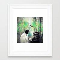 birdman Framed Art Prints featuring Birdman by Cs025