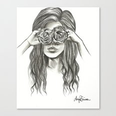 Beauty is within the eye of the beholder - By Ashley Rose Standish Canvas Print