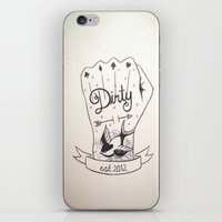 dirty dancing iPhone & iPod Skins featuring Dirty - Dirty by simonandrea