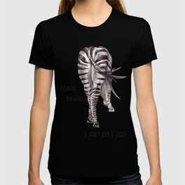 Zebra. backside T-shirt
