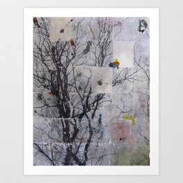 Tree Series 1 Art Print
