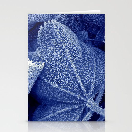 cold winter II Stationery Cards
