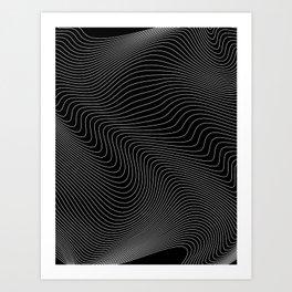 Distortion 017 Art Print