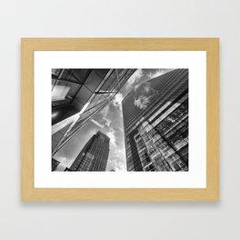 Looking Up In London Framed Art Print
