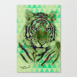 TigerPix Canvas Print