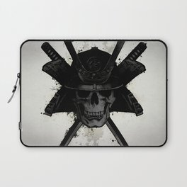 Samurai Skull Laptop Sleeve