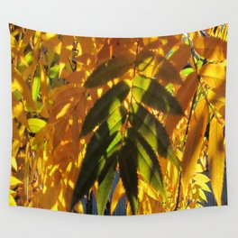 A  touch of green Wall Tapestry