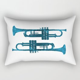 Trumpets Rectangular Pillow