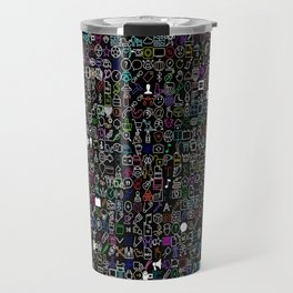 ICONS Overdrive II (Black) Travel Mug