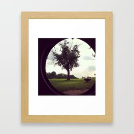 through my eyes Framed Art Print