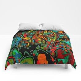 Street Art ATL Comforters