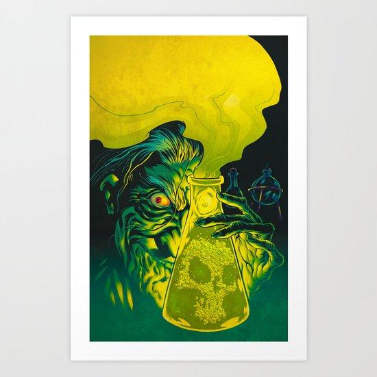 MAD SCIENCE! Art Print