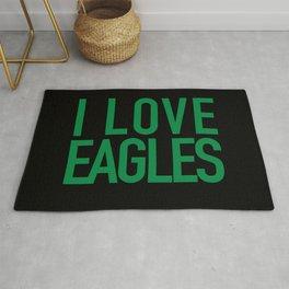 I Love Eagles Rug