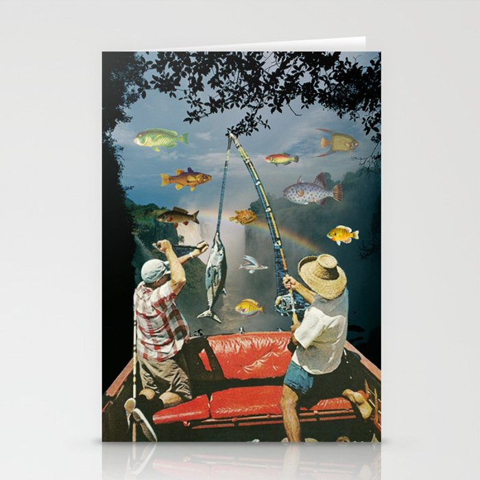 Gone Fishin' Stationery Cards