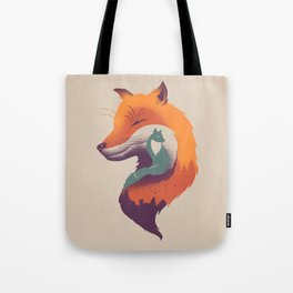 Foxy Breeze Tote Bag