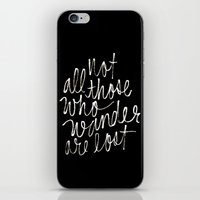 tolkien iPhone & iPod Skins featuring J. R. R. Tolkien quote by molly ennis