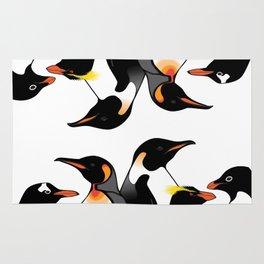 Penguins of Antarctica (vertical) Rug