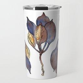 Kurrajong seed pod Travel Mug