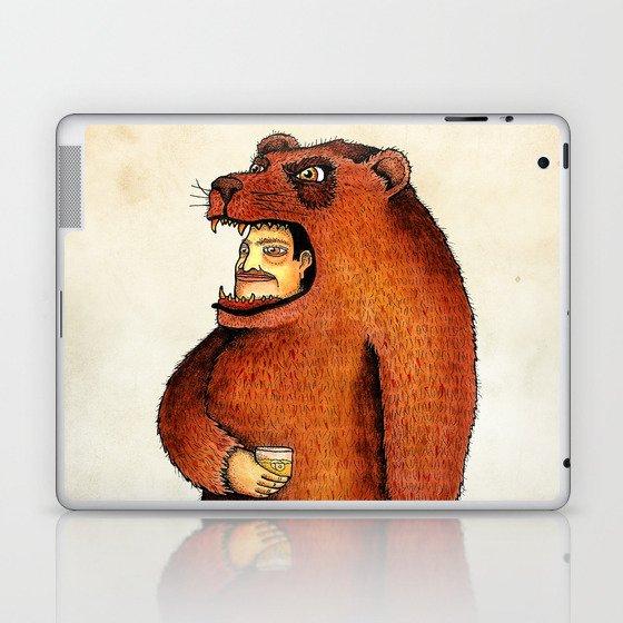 Oso pico tibio Laptop & iPad Skin