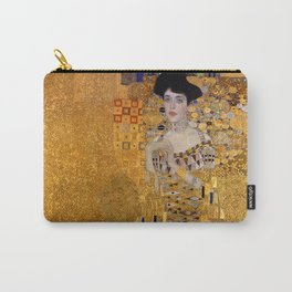 THE LADY IN GOLD - GUSTAV KLIMT Carry-All Pouch