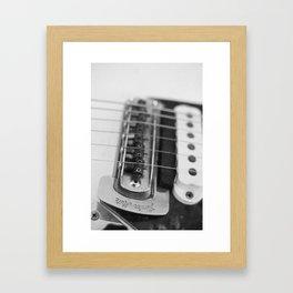Classic Guitar 5 Framed Art Print