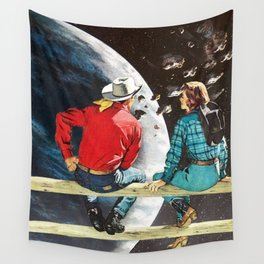 Ranch at the End of the World Wall Tapestry