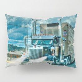 The Cattle Truck Pillow Sham