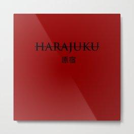 Harajuku, Japan Metal Print
