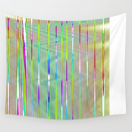 rainbow static Wall Tapestry
