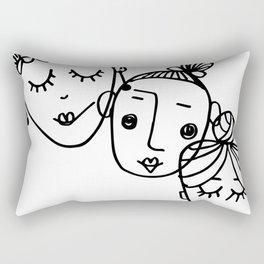 3 Zen Ladies Rectangular Pillow