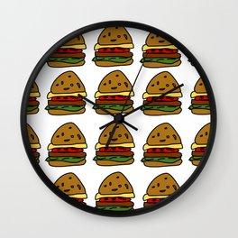 Ham Burger Wall Clock