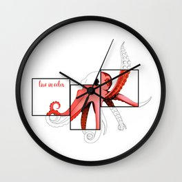 Live In Color Wall Clock